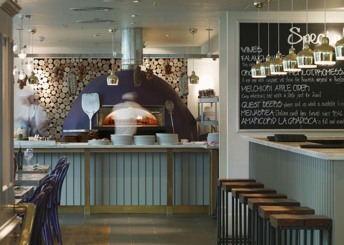 Restoran u Londonu VIEW PICTURES