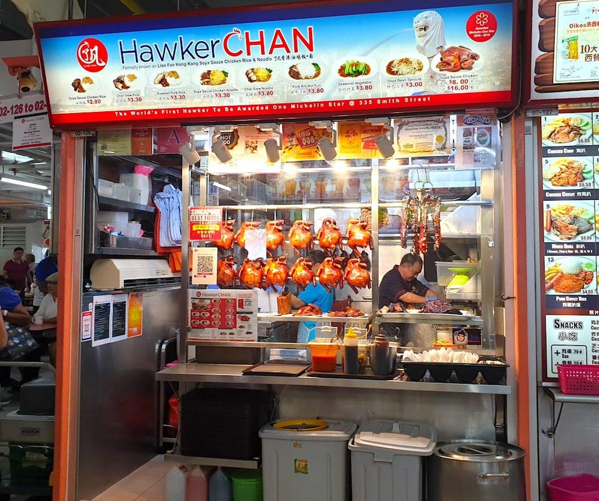 Hawker Chan Singapur