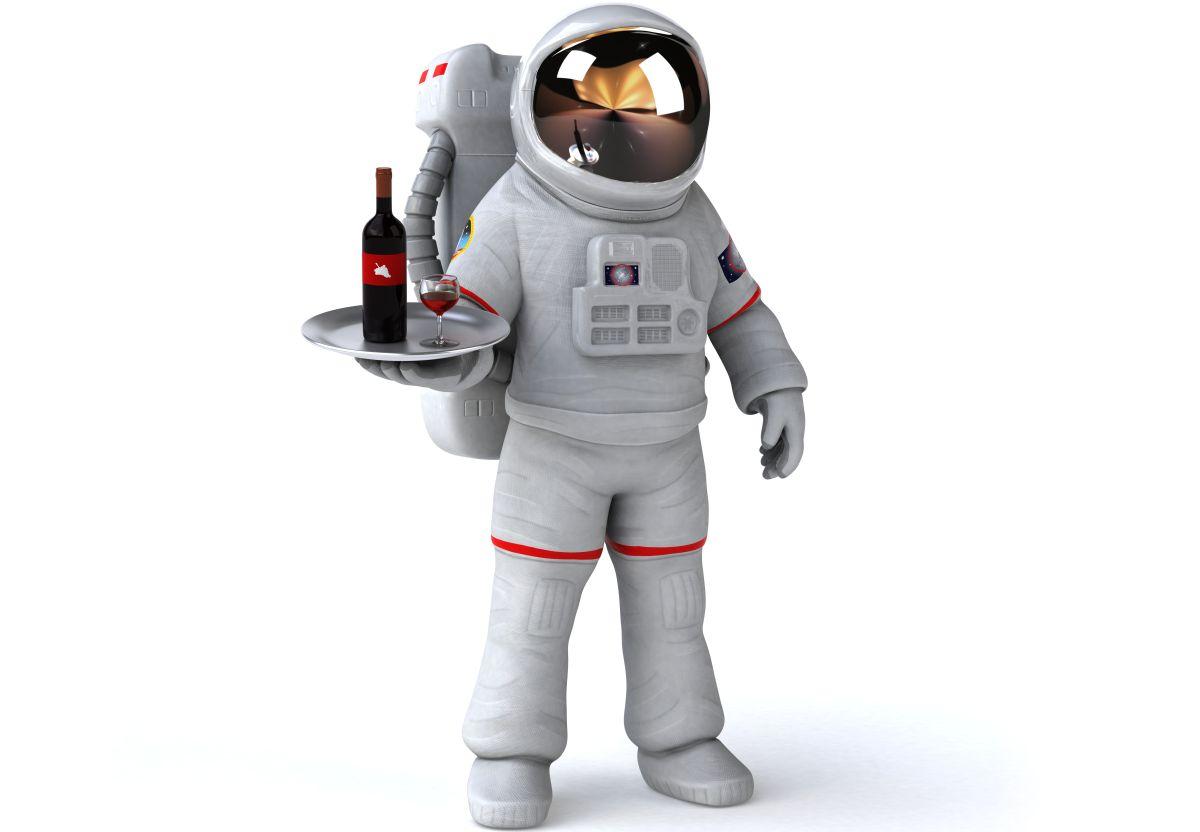 astronaut konobar