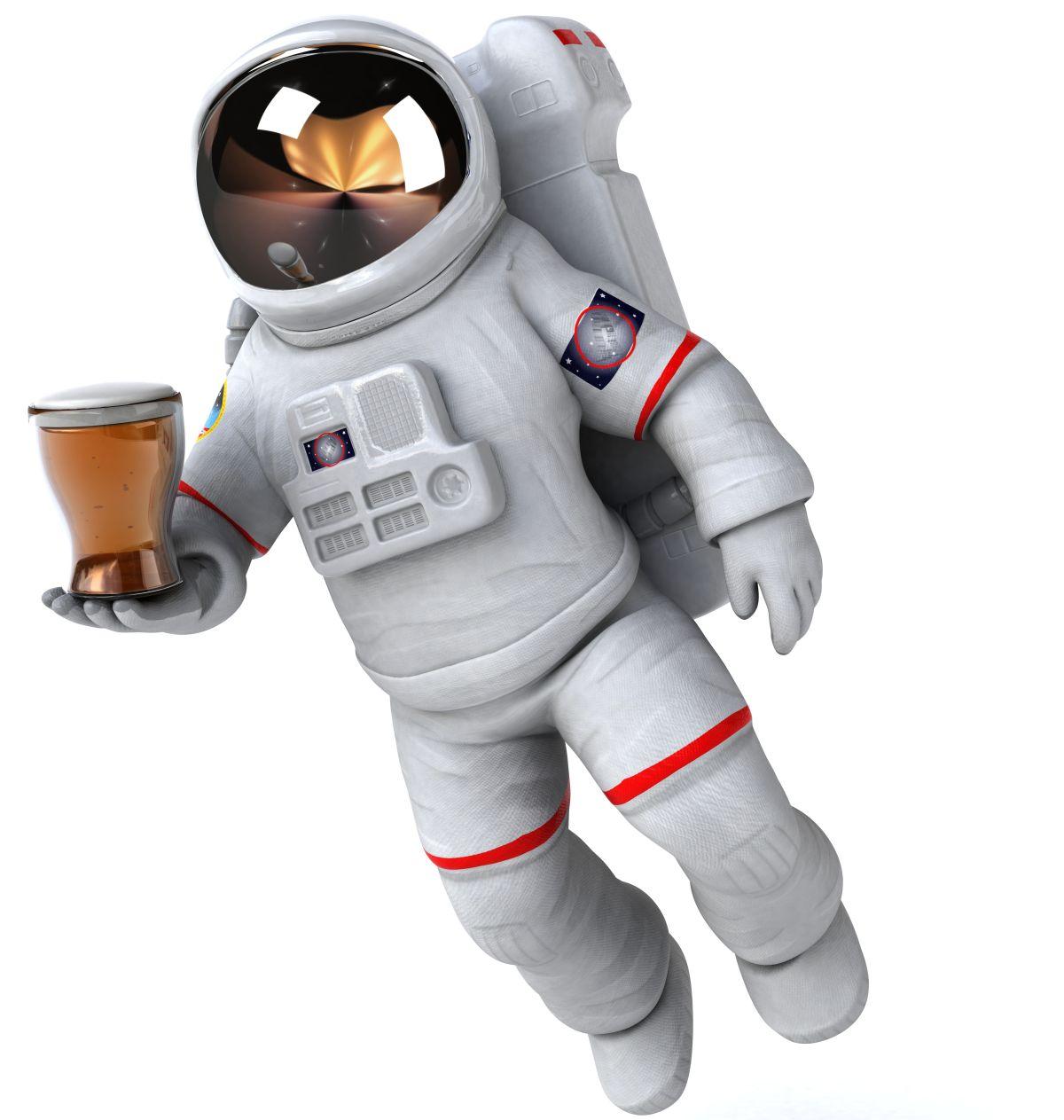 astronaut pivo